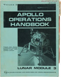 Explorers:Space Exploration, Apollo 9 Grumman Apollo Operations Handbook - Lunar Module 3,Volume II Book....
