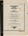 Explorers:Space Exploration, Apollo 14 (LM8 and LM9) Grumman Apollo Operations Handbook Lunar Module (LM8 and 9) Volume II Book. ...