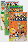 Bronze Age (1970-1979):Cartoon Character, Richie Rich Gold and Silver File Copy Short Box Group (Harvey,1970s) Condition: Average NM-....