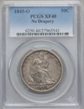 Seated Half Dollars: , 1845-O 50C No Drapery XF40 PCGS. PCGS Population (11/20). NGCCensus: (2/13). Numismedia Wsl. Price for problem free NGC/P...