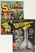 Golden Age (1938-1955):Science Fiction, Golden Age Sci-Fi Group (Various Publishers, 1950s).... (Total: 2Comic Books)