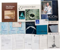 Explorers:Space Exploration, Space-Related Books, Periodicals, Autographs, Covers, and NASAPublications.... (Total: 21 Items)