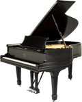 Musical Instruments:Violins & Orchestra, 1897 Steinway Model A Ebony Grand Piano. ...
