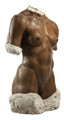 ROBERT GRAHAM (American, 1938-2008) Olympic Torso, 1984 Wax and plaster 52 x 35 x 23 inches (132.1 x 88.9 x 58.4 cm)...