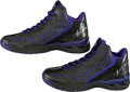 Basketball Collectibles:Others, 2011-12 Jimmer Fredette Game Used Signed Shoes. ...