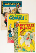 Golden Age (1938-1955):Cartoon Character, Comic Books - Assorted Golden Age Cartoon Comics Group (VariousPublishers, 1940s).... (Total: 4 Comic Books)