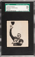 Football Cards:Singles (Pre-1950), 1948 Bowman Paul Christman #44 SGC 96 Mint 9 - Pop One, SingleHighest SGC Example! ...