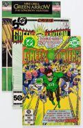Modern Age (1980-Present):Superhero, Green Lantern/Green Arrow-Related Box Lot (DC, 1977-88) Condition:Average VF/NM....