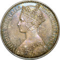 Great Britain, Great Britain: Victoria Proof Gothic Crown 1847,...