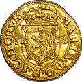 Scotland, Scotland: Mary gold Twenty-two Shillings 1553,...