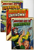 Golden Age (1938-1955):Horror, Adventures Into The Unknown Group (ACG, 1951-53).... (Total: 4Comic Books)