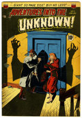 Golden Age (1938-1955):Horror, Adventures Into The Unknown #11 (ACG, 1950) Condition: FN+....
