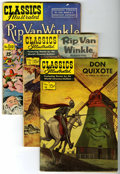 Golden Age (1938-1955):Classics Illustrated, Classics Illustrated Group (Gilberton, 1943-61).... (Total: 49Comic Books)