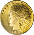 Indian Eagles, 1913 $10 MS66 PCGS....