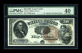 Large Size:Legal Tender Notes, Fr. 155 $50 1880 Legal Tender PMG Extremely Fine 40....