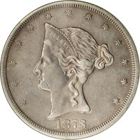1873 Trade Dollar, Judd-1276, Pollock-1418, R.4--Whizzed--ANACS. PR50 Details....(PCGS# 61561)