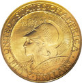 Commemorative Gold, 1915-S $50 Panama-Pacific 50 Dollar Round MS62 NGC....