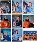 Autographs:Celebrities, Space Shuttle Collection of Signed Photos (Nine).... (Total: 9Items)