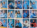 Autographs:Celebrities, Space Shuttle Collection of Astronaut Signed Portrait Photos(Fifteen). ... (Total: 15 Items)