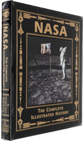 Autographs:Celebrities, Buzz Aldrin Signed: NASA, The Complete Illustrated HistoryBook by Michael Gorn....