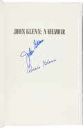 Autographs:Celebrities, John Glenn: John Glenn A Memoir Book Signed by John andAnnie Glenn. ...