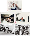 Explorers:Space Exploration, Space Shuttle Challenger (STS-51-L) Original NASAPhotographs, One Signed. ... (Total: 5 )