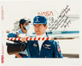 Autographs:Celebrities, John Young Signed Color Photo. ...