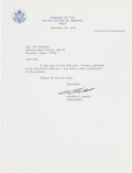 Autographs:Celebrities, Bill Anders Typed Letter Signed. ...