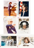 """Autographs:Celebrities, NASA Female Astronauts """"J-Z"""" Signed Photos and Personal Notes. ..."""