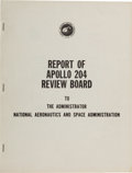 Explorers:Space Exploration, Apollo 1: NASA Report of Apollo 204 Review Board Book....