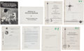 Explorers:Space Exploration, Apollo 12 Archive of Original NASA Publications and Memorandums,Several Originally from the Collection of Mission Command Mod...(Total: 35 Items)