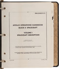 Explorers:Space Exploration, Apollo Operations Handbook Block II Spacecraft NASA BookSM2A-03-BLOCK II-(1) Originally from the Personal Collection ...