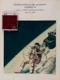 """Explorers:Space Exploration, Ed White II: Collection of Original 7"""" x 7"""" NASA Glossy Photos andEleven Mustard Seeds Flown on Gemini 4, All from His Person...(Total: 2 Items)"""
