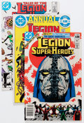 Modern Age (1980-Present):Superhero, Legion of Super-Heroes Short Box Group (DC, 1980-86) Condition:Average FN....