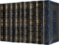 Autographs:Celebrities, Nine Signed Leather-Bound Easton Press Limited Edition Books. ...(Total: 9 Items)
