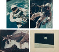 Explorers:Space Exploration, Mercury through Apollo Collection of Photos, Many Oversized. ...