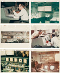 "Explorers:Space Exploration, Houston Mission Control Center Collection of Original 1965-DatedNASA Photos Including Sixteen with ""Red Numbers.""..."