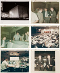 "Explorers:Space Exploration, Houston Mission Control Center Collection of Original 1967 and1968-Dated NASA Photos Including Nine with ""Red Numbers.""..."
