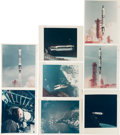 """Photography:Official Photos, Gemini 8, Gemini 9A, and Gemini 10 Collection of Twenty-TwoOriginal NASA Color Glossy Photos Including Nineteen with """"RedNum... (Total: 22 Items)"""