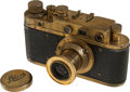 """Explorers:Space Exploration, """"Leica"""" 35mm Rangefinder Camera, Serial #257081, with Case...."""