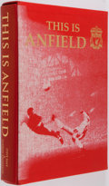Books:Fine Press & Book Arts, [Genesis Publications]. SIGNED/LIMITED. Steve Hale [photography].Andrew Thompson. This is Anfield. An Official Mode...