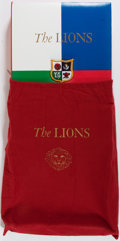 Books:Fine Press & Book Arts, [Genesis Publications]. SIGNED LIMITED. David Walmsley. TheComplete History of The Lions of The British and Irish Rugby...