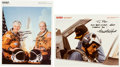 Autographs:Celebrities, Space Shuttle Columbia (STS-4) Crew-Signed Color Photo and Additional Signed Photo. ...