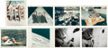 "Explorers:Space Exploration, Apollo 7 Collection of Original NASA Photos Including Six with ""Red Numbers."" ... (Total: 8 )"