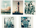 "Explorers:Space Exploration, Apollo 8 Collection of Original NASA Photos Including Ten with ""RedNumbers.""..."