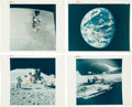 "Explorers:Space Exploration, Apollo 15 Collection of Original NASA Photos Including Nine with""Red Numbers."" ..."