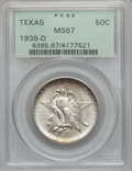 Commemorative Silver, 1938-D 50C Texas MS67 PCGS....