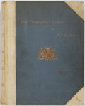 Books:Fine Press & Book Arts, [Clarendon Press]. WITH AUTOGRAPH LETTERS. Letters of PhilipDormer Fourth Earl of Chesterfield to His Godson and Succes...