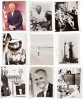 Photography:Official Photos, Mercury-Atlas 6 (Friendship 7) and John Glenn: Collection ofOriginal NASA Photos.... (Total: 34 Items)