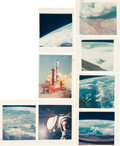 "Photography:Official Photos, Gemini 5 Collection of Thirty Original NASA Color Glossy Photos Including Twenty-Four with ""Red Numbers.""... (Total: 31 )"